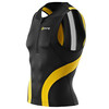 Skins TRI400 Men's Compression Sleeveless Top black/yellow